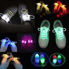 WL LED Flash Luminous Light Up Glow Strap Shoelace Shoe Laces Party Disco Props