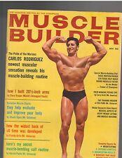 Muscle Builder Bodybuilding Fitness Mag Stan Brice/ Reg Park/ Dave Draper 11-64
