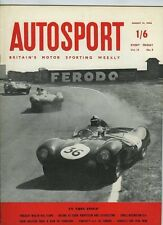 Autosport 31st 1956 de agosto * Nuevo Porsche Carrera & 1600 *
