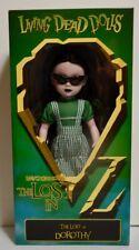 LDD MEZCO Living Dead Dolls Lost in Oz Emarald Variant - DOROTHY - NEW SEALED