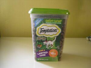 Temptations Classic, Crunchy and Soft Cat Treats, Creepy Catnip Treats for Cats