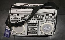 Fydelity Boombox Ghetto Blaster Cooler Bag w/ Speakers 3.5mm iPod iPhone Android