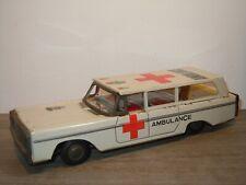 Ambulance Stationwagen - Tinplate *36850