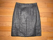 Club Monaco Black Quilted Puffer Snow Skirt size 4