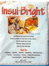 """Insul-Bright"" 36 x 45 inches, Nip. Reflects Heat or Cold, Machine Wash"