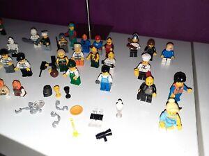 LEGO 35 Figuren KONVOLUT PAKET Figuren & Zubehör Waffen Motorrad etc.