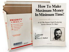 How to Make Maximum Money in Minimum Time - Gary Halbert - Rare Copywriting Book