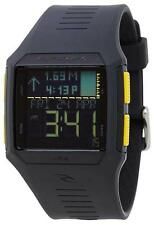 Rip Curl RIFLES DIGITAL TIDE WATCH Mens Surf Watch New - A1119 Charcoal Grey