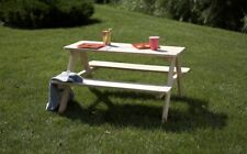 Wooden Kids Picnic Table-Good For Indoor And Outdoor Use-Brand New