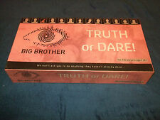 BIG BROTHER TRUTH OR DARE ADULT BOARD GAME BY AVEKKI STUDIOS LTD 2006