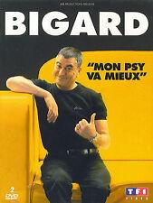 Bigard : Mon psy va mieux (2 DVD)