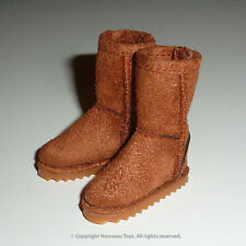 1/6 Phicen, Hot Toys, TTL, Kumik, Cy Girl & NT - Female Brown Leather Skin Boots