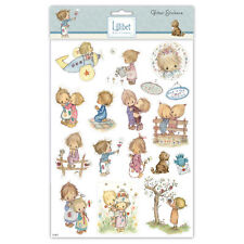 Beautiful Lillibet A4 Glitter Stickers  for cards and crafts