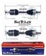 For Chevy Lumina Pontiac Grand Prix 91-99 FWD Pair 2 Front CV Axles SurTrack Set
