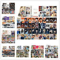 54pcs Set Kpop EXO NCT Stray Kids Seventeen TXT Lomo Card Collective Lomocards