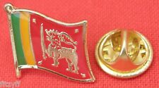 Sri Lanka Country Flag Lapel Tie Pin Badge Brooch Democratic Socialist Republic