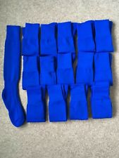 Pack Of 15 pairs, Men's royal blue, Football Socks, Size 7-11