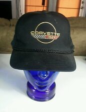 Vtg Snapback Hat Cap CHEVY CORVETTE chevrolet stingray racing Indy 500 Pace Car