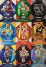 NRL 2016 Traders Parallel Bunde Insert P  (19) card lot of Players 1 of each