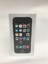 Apple iPhone 5S 16GB Space Grey Unlocked Smart Phone. BRAND NEW SEALED IN BOX.