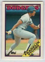 1988 Topps Tiffany Baseball Los Angeles Dodgers Team Set