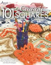 101 Granny Squares Crochet Instruction Pattern Book Annie's Darla Sims Rare NEW