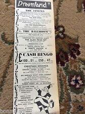 k2-5  ephemera 1966 advert margate alan price sean buckley the rare breed