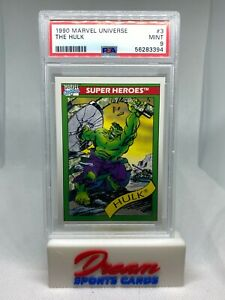 1990 Impel Marvel Universe THE HULK #3 PSA 9 - LOW POP