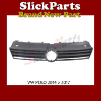 VOLKSWAGEN POLO GRILLE WITH CHROME 2014 2015 2016 2017 *NEW*