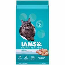 New listing Iams Proactive Health Adult Indoor Control Dry Cat Food, Greens, 22 lb. Bag