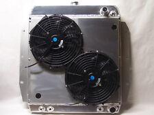 1955 1956 1957 1958 1959 CHEVY TRUCK ALUMINUM RADIATOR LS LS1 LS2 LS3 with fans
