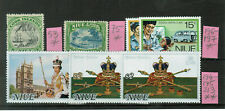 Niue 7 Stamps MH and MNH #1084