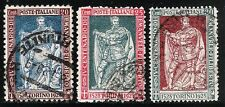 KINGDOM OF ITALY  1928 Old Set of High Value Stamps - Duke of Savoy