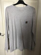 Carhartt - long sleeve t shirt / light grey