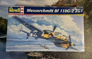 VINTAGE REVELL MESSERSCHMITT Bf-110G-2 ZG1 - 1/48 FACTORY SEALED