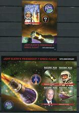 St. Vincent Mustique 2012 John Glenn Raumfahrt Space 242-45 Block 29 MNH