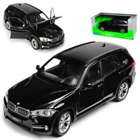 BMW X5 F15 SUV Schwarz 3. Generation Ab 2013 1/24 Welly Modell Auto mit oder o..