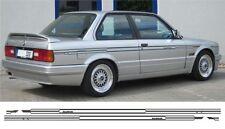 BMW E30 Alpina Stil Nadelstreifen Seite Streifen 318, 320, 323. 325, 330