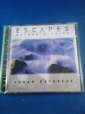 """Escapes - Natures Voice """"Ocean Daybreak"""" CD USED IN GREAT CONDITION"""