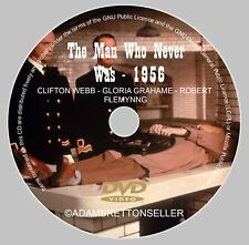 THE MAN WHO NEVER WAS DVD (1956) CLIFTON WEBB - GLORIA GRAHAME - ROBERT FLEMYNG