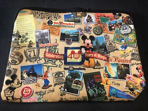 Disney 40 Years Of Magic Mickey Minnie Mouse Laptop Sleeve 15 Inches Wide