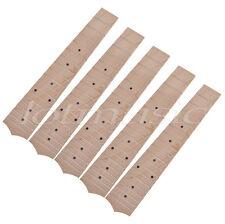 5pcs 23'' Ukulele Fretboard Fingerboard With 18 Frets Maple For Concert Ukulele
