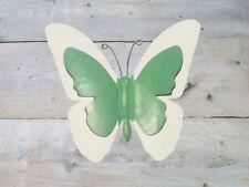 Wanddeko Metall Schmetterling Wanddekoration Wandbehang Dekoration Bild Deko Neu
