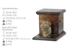 Irish Wolfhound, dog urn made of cold cast bronze, ArtDog, Ca - kind2