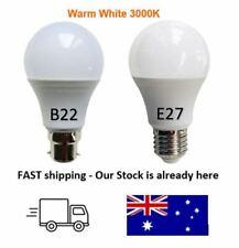 LED Light Bulb B22 E27 7W  Warm White 3000K Lamp Globe Omni Direction 200-240V