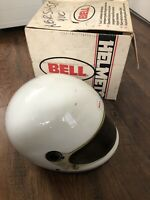Bell Roadstar Helmet Motorcycle White IG 7 1/4-7 3/8 L Large Dot Size Sheild