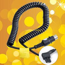 Flash Power Cable Cord for Nikon SB910 SB900 SB5000 Speedlite Godox PB820 PB960