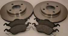 Ford Focus MK1 Pair Front Brake Discs and Front Brake Pads 98-04