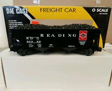 """K-LINE K6253-1932 """" READING 2 BAY DIE CAST COAL  HOPPER """" 3 RAIL. (8D)"""