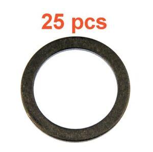 (25) Marli 18mm Aluminum Oil Drain Plug Gaskets M18 RPL 095-149 Fits Mazda Kia
